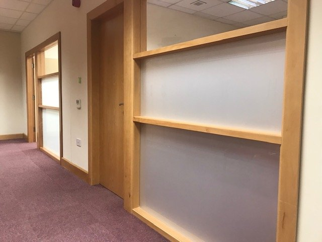 Commercial Office refurbishment at Letterkenny MABs